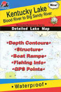 kentucky lake maps