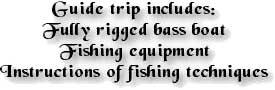 Kentucky Lake Fishing Guides Information